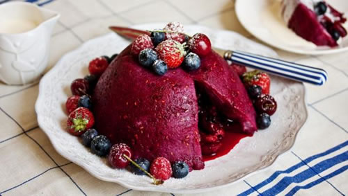 Very summery summer pudding